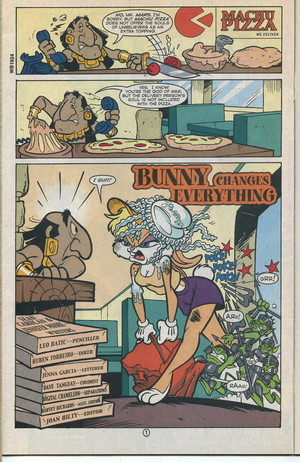Lola Bunny Comic Book Part 1