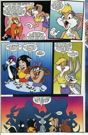 Lola Bunny Comic Book Part 6