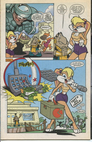 Lola Bunny Comic Book Part 8