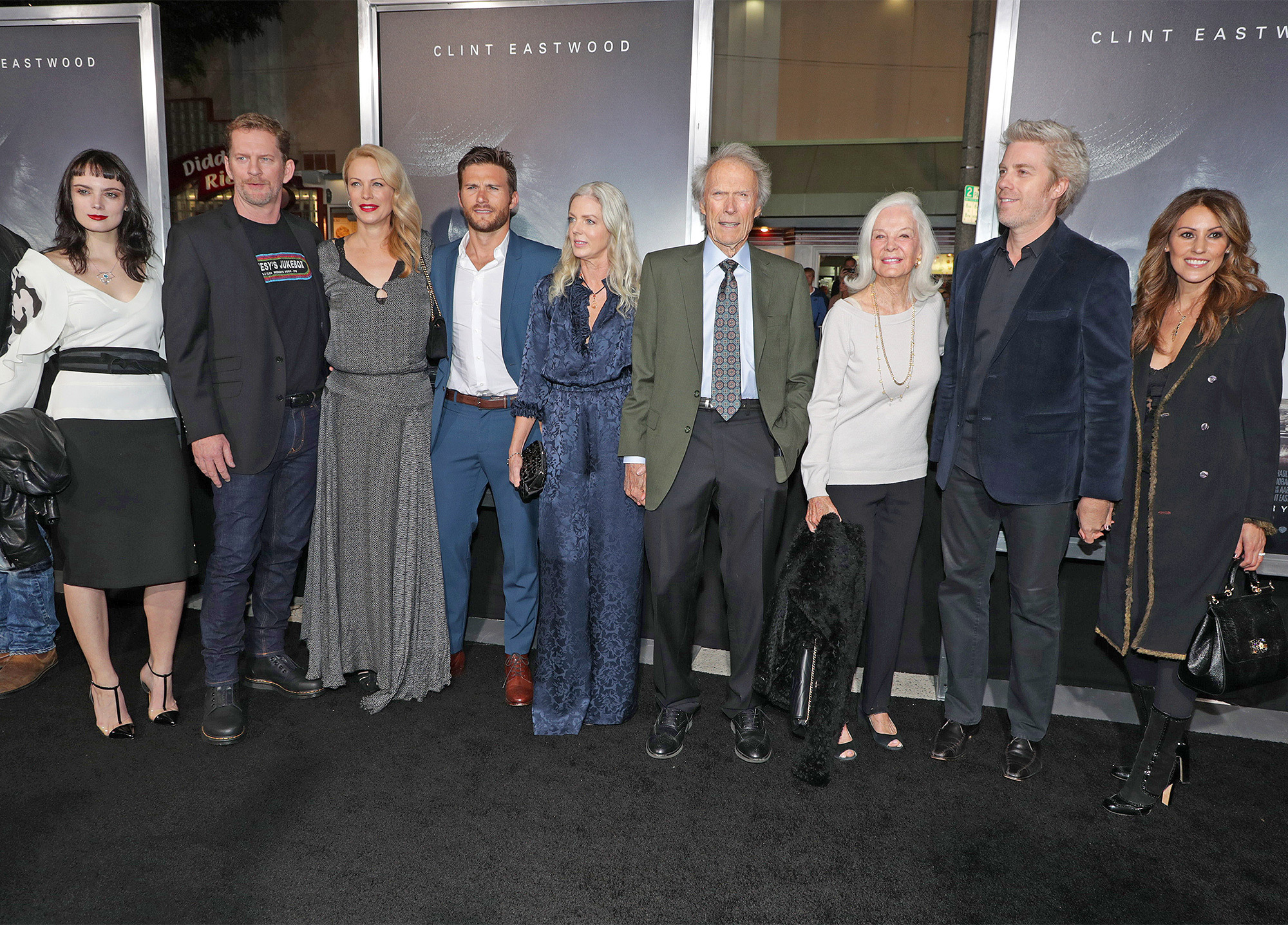 Los Angeles premiere of The Mule