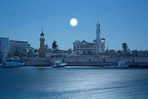MOONLIGHT ALEXANDRIA EGYPT