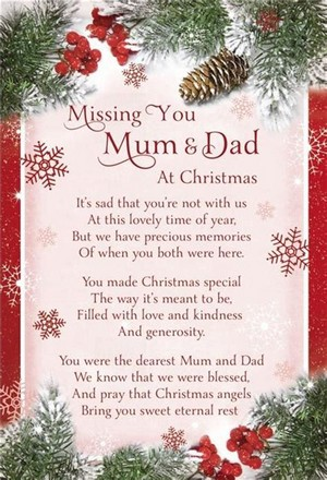 Merry クリスマス Mum and Dad in Heaven 💜I Miss あなた So Much 💜 *tears*