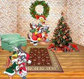 Merry Christmas from Looney Tunes - christmas wallpaper