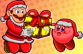 Merry Mariomas - mario fan art