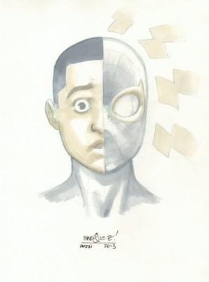Miles Morales par David Marquez