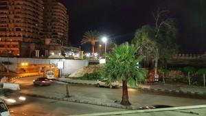 NIGHT rue IN ALEXANDRIA EGYPT