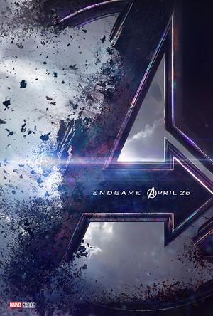 Official poster for Avengers: Endgame (2019)