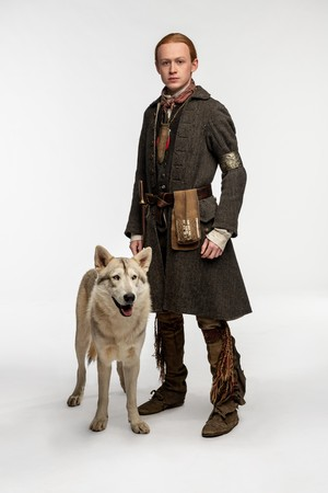 Outlander Season 4 Official Picture - Young Ian Murray and Rollo