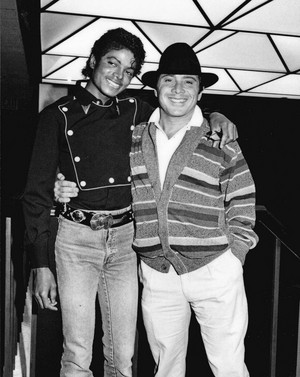 Paul Anka And Michael Jackson