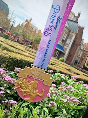 Princess Half Marathon Aurora Medal