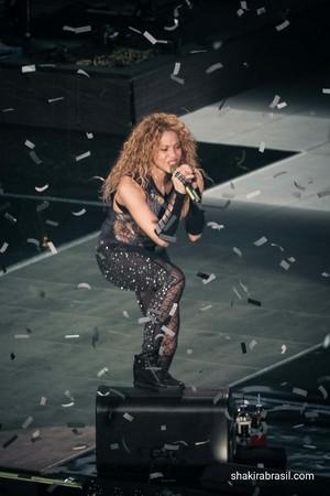 Шакира performs in Esch-Sur-Alzette (June 19)