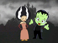 Sissi Delmas as The Bride of Frankenstein - code-lyoko fan art