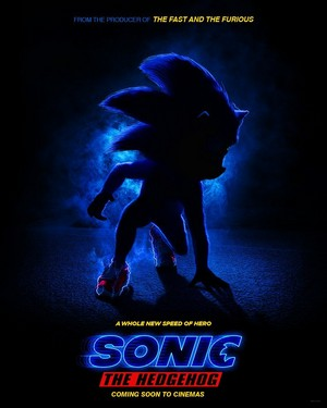 Sonic The Hedgehog (2019) - First Poster