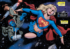 Starman and Supergirl