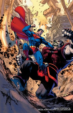 superman vs Rogol Zaar