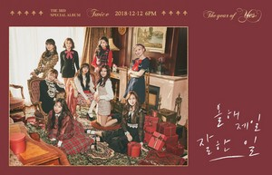"TWICE teaser afbeeldingen for special album ""The jaar of Yes"""