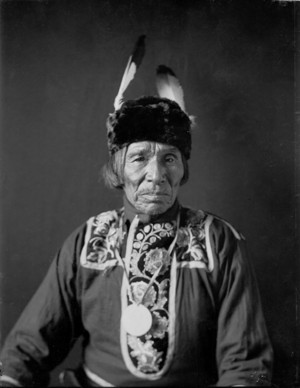 Tabaiwatang or De-Bwawen-Dunk (Sound of Eating) Called John -Chippewa  -Gill  -Feb1908