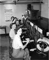 Telephone Operators Back In 1952
