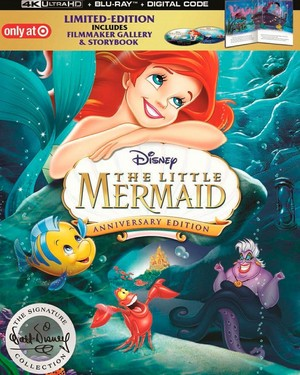 Walt Disney Blu-Ray Covers - The Little Mermaid: 30th Anniversary Edition