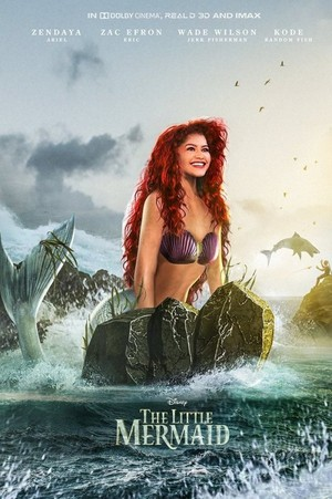 The Little Mermaid starring Zendaya