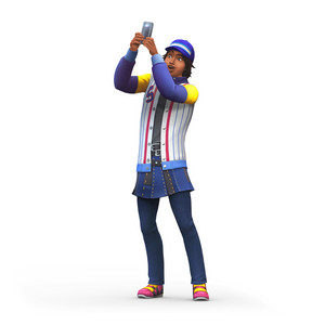 The Sims 4: Get Famous Renders