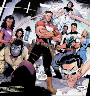 The Terrifics and The Strong Family