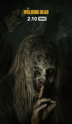 The Walking Dead - Season 9B Key Art - The Whisperers