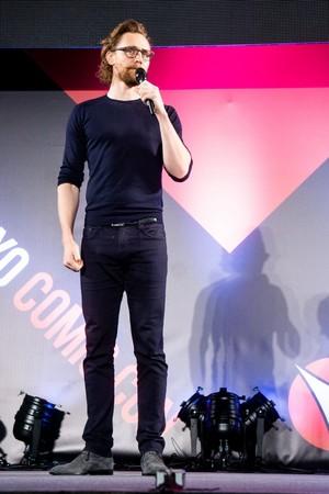 Tom Hiddleston at Tokyo Comic Con ~Japan (Dec 1, 2018)