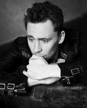 Tom in Black Leather