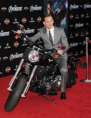 Tom on a Motorcycle!