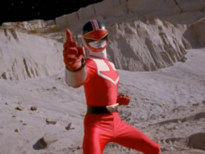 Wes Morphed As The Red Time Force Ranger 2