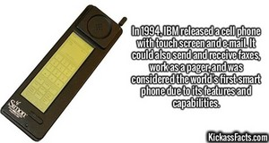 World's First Smartphone