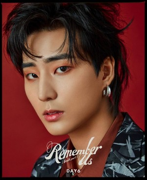 Young K's teaser imej for upcoming album 'Remember Us: Youth Part 2'!