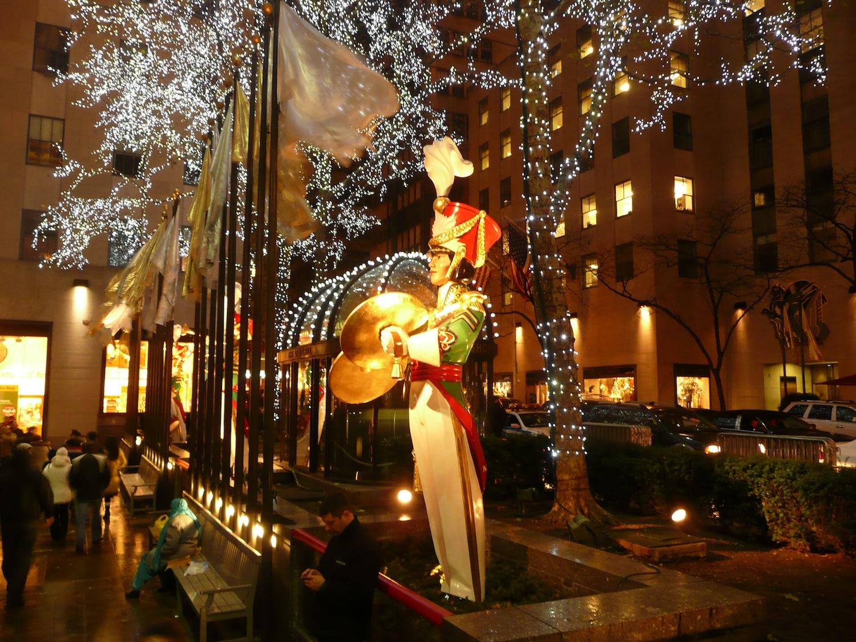 New York Weihnachten.Weihnachten In New York Ktchenor Hintergrund 41809052