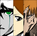 *Ichigo / Orihime / Ulquiorra : Bleach* - anime photo