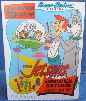 The Jetsons Fruit Snacks