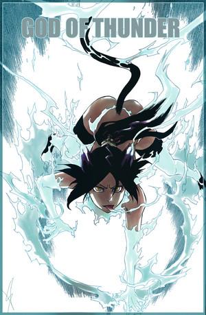 *Yoruichi Shihoin : God Of Thunder*