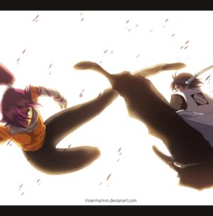 *Yoruichi v/s Soifon*