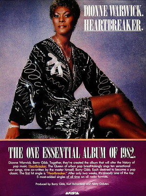 1982 Promo Ad For Heartbreaker