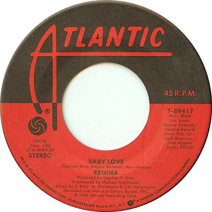 1986 Song, Baby Love, On 45 RPM