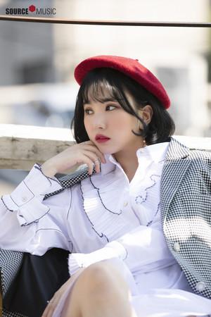 2019 Season's Greeting behind - Eunha