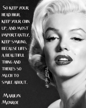 A Quote From Marilyn Monroe