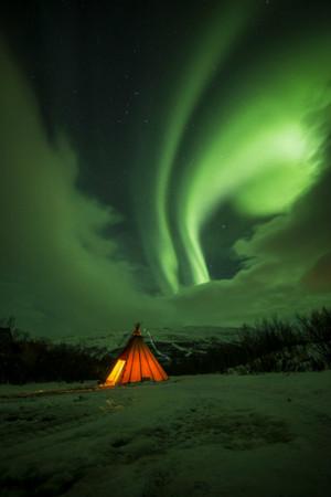 Abisko Aurora bởi Gerry McGonigle