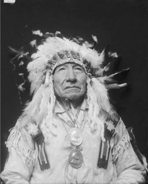 Apeyohantanka aka Big Man hoặc Mane (Dakota Brulé) Gill - FEB 1913