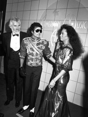 Backstage At The 1984 American Muzik Awards