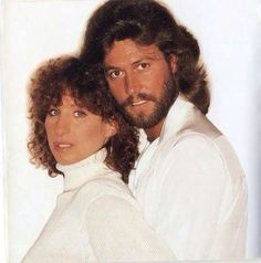 Barbra Streisand And Barry Gibb