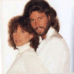 Barbra Streisand And Barry Gibb