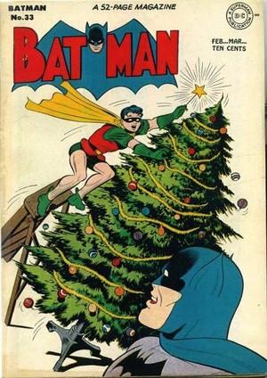 Batman Christmas Vintage comic 🎄