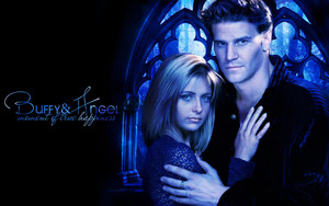 Buffy/Angel wallpaper - Moment Of True Happiness