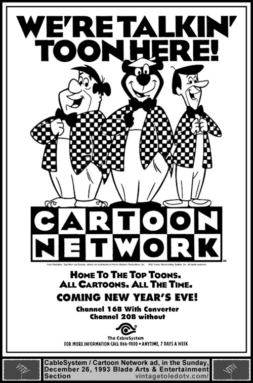 Cartoon Network Ad